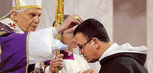 Papa Cuaresma Ceniza
