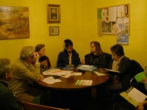 Vista parcial de la reunión - 1
