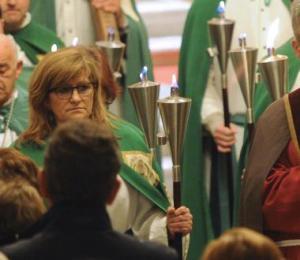 Una de nuestras catequistas - Imagen de El Correo de Burgos