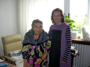NES@ong: Carmen y Beatriz en la residencia