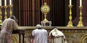 Adoración Papa Francisco