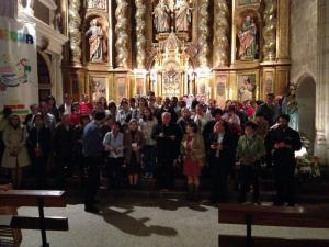 Reunión de catequistas en San Cosme y San Damián el año pasado