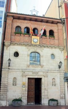 La capilla de la Divina Pastora está ubicada en la calle Laín Calvo, 10.