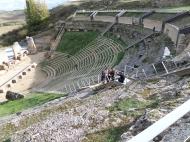 Clunia Fotos en el teatro Romano