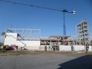 Vista de la fachada este el 20 de noviembre