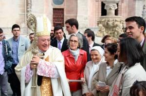 Foto publicada en la edición digital de Revista Ecclesia, el 17 de enero.