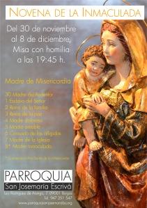 Novena de la Inmaculada