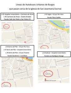 Mapa autobuses