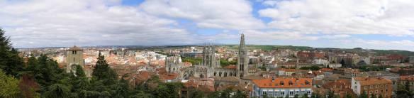 BurgosdesdeelMiradordelcastillo