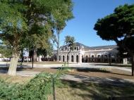 La antigua estación de tren
