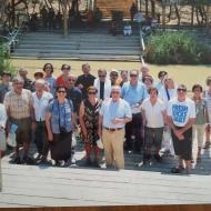 En el Jordán, después de renovar las promesas del bautismo