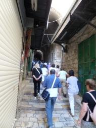 Via Crucis en la Via Dolorosa: por aquí caminó el Señor