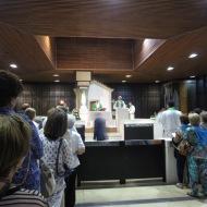 Día 14 Rosario y Santa Misa en la Capelinha