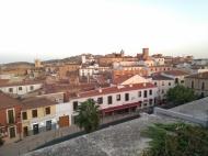 El viejo Cáceres desde el Mirador