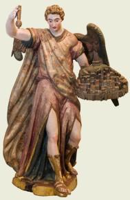 Angel de la ciudad de Burgos