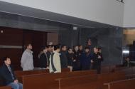 Al fondo de la iglesia