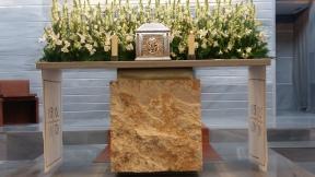Reserva del Santisimo para la Comunión del Viernes Santo