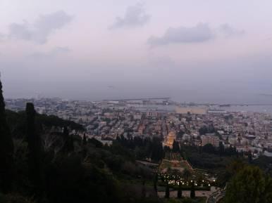 Panorámica de Tiberias